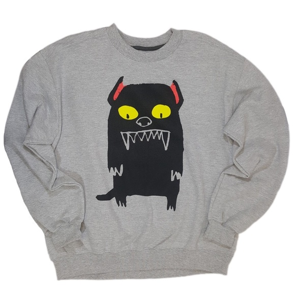 Forever 21 Other - Scary Dog Sinister Pet 21Men Pulllover Sweater